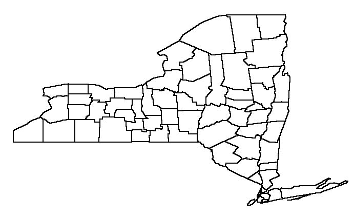 Blank New York State Map.Natalie Portman New York State Counties Map